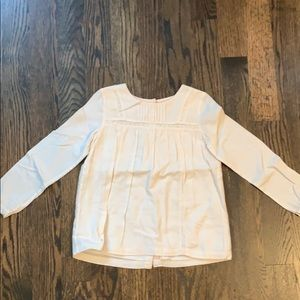 Mini Boden ivory top size 6-7